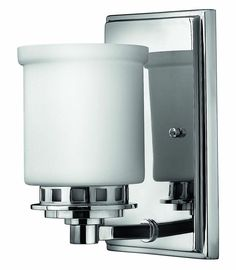 View the Hinkley Lighting H5190 1 Light Indoor Wall Sconce from the Ashley Collection at Faucet.com.