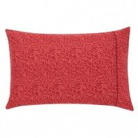 William Morris Strawberry Thief Crimson Housewife Pillowcase