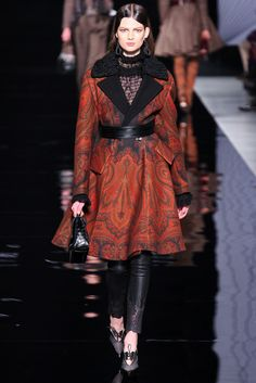 Etro Fall 2012 Ready-to-Wear Fashion Show - Bette Franke