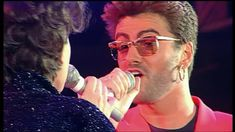 George Michael With Lisa Stansfield - These Are The Days Of Our Lives (Live Vocal Version) - YouTube