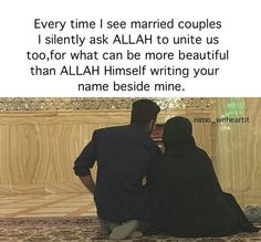 Image shared by nimoweheartit. Find images and videos about beautiful, goals and Relationship on We Heart It - the app to get lost in what you love. Islamic Quotes On Marriage, Muslim Couple Quotes, Muslim Love Quotes, Islam Marriage, Love In Islam, Beautiful Islamic Quotes, Islamic Inspirational Quotes, Muslim Couples, Muslim Dating