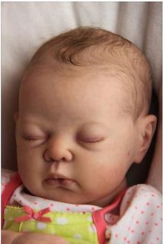 Annie reborn baby doll kit by Adrie Stoete - super cute!