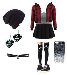 """""""Go away"""" by meganharb on Polyvore featuring Polo Ralph Lauren, Killstar, Converse, R13, Witch Worldwide, Coal, Fallon and Marc by Marc Jacobs"""