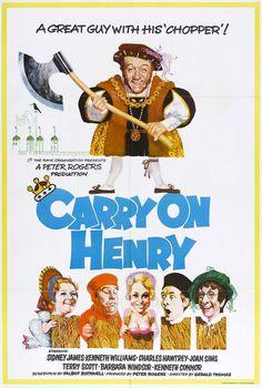 Carry on Henry (1971)  Movie Posters https://www.youtube.com/user/PopcornCinemaShow