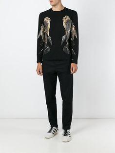 Neil Barrett bird print sweatshirt. 2016.