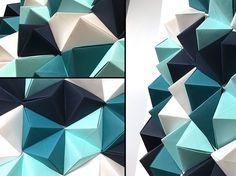 paper wall art, diy wall art, paper art