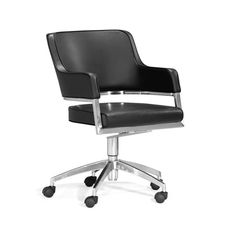 Work & Roll Chair in Black | dotandbo.com