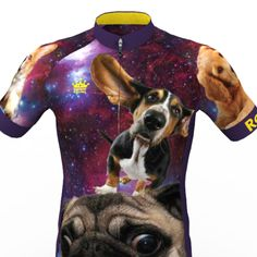 Rouler Sportswear with more interstellar cuteness. Space Puppies jersey is available over at @rouler365 Order yours today and be a good boy…