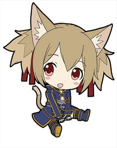 """Sword Art Online II Petanko Trading Rubber Strap: Silica. The PVC Charm Measures Approximately 2.3"""" (60mm) in Height. It Comes with a Earphone Jack Plug for Easy Attachment. Manufactured by Penguin Pa"""