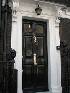 Black Door | Flickr - Photo Sharing!