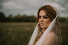 A custom bridal veil from the by KYNA Collection. Jennifer wears a Juliette Cap veil with a detailed lace gathering. Full range of Bridal headwear, veils and accessories available online. Shot in a bog in Ireland Juliette Cap Veil, Wedding Hair Accessories, Bridal Headpieces, Veils, Wedding Hairstyles, Ireland, Range, Celebs, Stylish