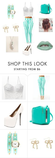 """I go live !!!!!!!!"" by swaggingalltheway ❤ liked on Polyvore featuring Boohoo, Zara and Charlotte Russe"