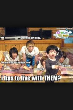 SHINee Hello Baby l Plx watch this!!! You'd need Eng. Subtitles, tho!!! This is really funny