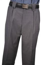 Get Discounts on ID Classic Fit Pleated Front Medium Gray Wool fabric Wide Leg Dress Slacks Mens Wide Leg Trousers, Mens Slacks, Wide Leg Pants, Mens Dress Pants, Men Dress, Tie Matching, Big Legs, Wool Fabric, Medium Long