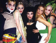 Nina Hagen and Club Kids @ Tunnel Nina Hagen, Kids Tunnel, Michael Alig, Leigh Bowery, Blitz Kids, Richie Rich, Monster Party, Party Monsters, New Romantics