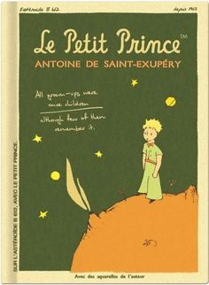 Le Petit Prince Vintage Galore Collection Blank Notebook