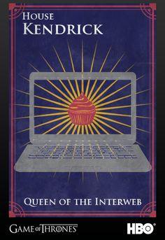Anna Kendrick's Sigil #gameofthrones #annakendrick #jointherealm