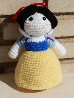 Blancanieves: una tierna princesa, compañera de juegos que te acompañará donde tu vayas!