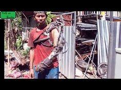 Tawan si tukang Las Perancang tangan robot yang dijuluki IronMan Bali - YouTube