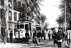 Hace 117 años se inauguró el primer tranvía de Murcia