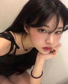 Cute Makeup, Pretty Makeup, Makeup Looks, Hair Makeup, Pelo Ulzzang, Ulzzang Korean Girl, Pretty Korean Girls, Cute Korean Girl, Korean Beauty