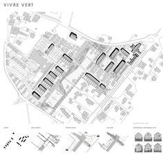 OPERASTUDIO - Project - Social housing in Switzerland - Masterplan and concept  #social #housing #concept #masterplan