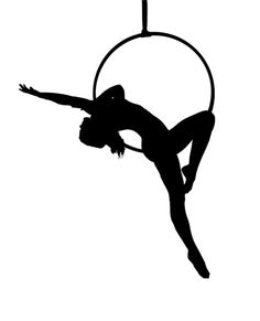 Lyra Aerialist Silhouette Art Print by spiltsugar fitnees inspiration Aerial Acrobatics, Aerial Dance, Aerial Silks, Aerial Hoop, Aerial Arts, Pole Dance, Emoji Drawings, Circus Crafts, Lira