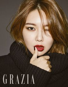 Sooyoung for Grazia Magazine