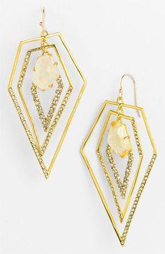 Alexis Bittar 'Miss Havisham - New Wave' Drop Earrings Jewelry Shop, Fashion Jewelry, Women Jewelry, Jewelry Design, Miss Havisham, Statement Earrings, Drop Earrings, Alexis Bittar, New Wave