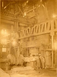 Photo of Bethlehem Steel in 1920s by James L. Dillon and Company of Philadelphia.
