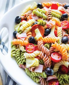 Summer Artichoke Pasta Salad