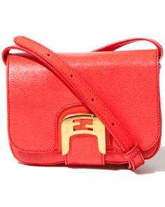Cute pop of color bag by Fendi