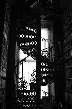 Old Library at Trinity College, Dublin. Photo © Julie Blattberg.