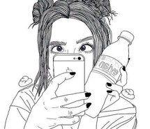 Inspirant de l'image art, Bambi, dessin, fille, indie, selfie, grunge doux, Tumblr #3601969 par loren@ - Résolution 500x499px - Trouver l'image à votre goût