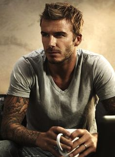 David Beckham... oh I'm in love. <3