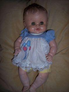 "Sun Rubber Sunbabe BABEE-BEE Ruth Newton 13"" Doll 1950 (03/31/2011)"