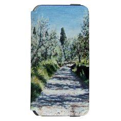 OLIVE TREES IN RIMAGGIO TUSCANY INCIPIO WATSON™ iPhone 6 WALLET CASE