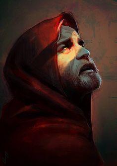 Sith Obi-Wan from Star Wars (Ewan McGregor) by Aquila–Audax Star Wars Jedi, Star Wars Saga, Star Wars Fan Art, Star Wars Clones, Sith, Starwars, Darth Vader, Star Wars Characters, Obi Wan