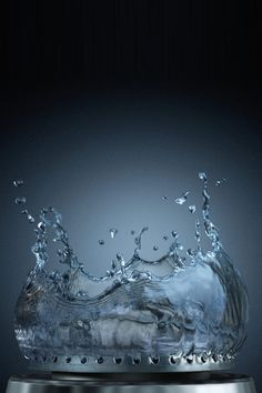 Water abstract wallpaper http://www.iphonenerve.com/3d-abstract/