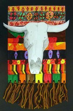 Possible rodeo art idea