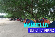 No fancy amenities, this resort only offers you the sand and the sea. Camping is the only way to go!