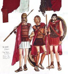 Juice: The Trojan Women- Costume Design