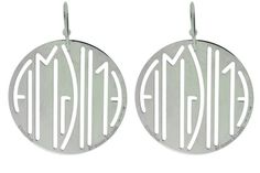 www.jewelrybydavid.com Enigma By Bulgari round earrings in sterling silver. Link to the item https://www.jewelrybydavid.com/collections/bvlgari/products/enigma-by-bulgari-round-earrings-in-sterling-silver