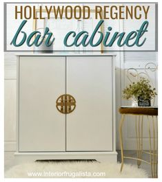 From Bombay TV to Hollywood Regency Bar Cabinet | The Interior Frugalista