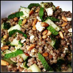 Couscous Salad with Za'atar Vinaigrette
