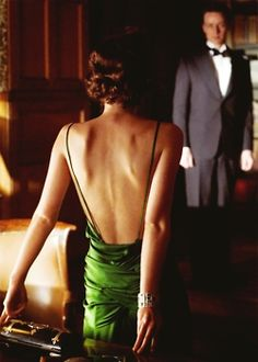 kiera knightly green dress atonement ...