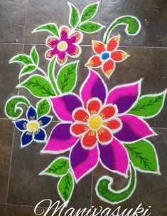 Latest Rangoli Designs for Diwali Browse over Ideas & Images on rangoli design for Diwali festival. Diwali is never complete without rangoli colours. Simple Rangoli Designs Images, Rangoli Designs Latest, Small Rangoli Design, Colorful Rangoli Designs, Rangoli Designs Diwali, Diwali Rangoli, Beautiful Rangoli Designs, Latest Rangoli, Easy Rangoli