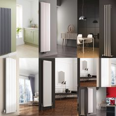 Why choose a vertical radiator for your hall, living, kitchen or bedroom? restrictions on furniture layout (they take up less wall space) heat output as they are at body height. Vertical Radiators, Furniture Layout, Wall Spaces, Bedroom, Kitchen, House, Ideas, Home Decor, Cooking