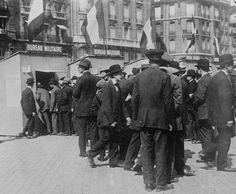 L'histoire Place - Première Guerre mondiale Chronologie - 1914 - Mobilisation française