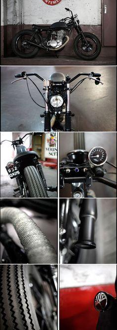 500 SR Bobber by Blitz Motorcycles - http://blitz-motorcycles.com/